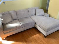 Sofa-chaise with full-queen sleeper from Macy's Washington, 20002