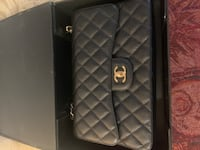 Jumbo Caviar Quilted Chanel Classic Flap Bag TORONTO