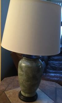 White and brown table lamp Jacksonville, 32277