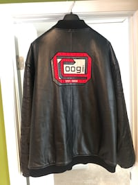 Coogi Bomber Leather Jacket Size 4X for $90 OBO