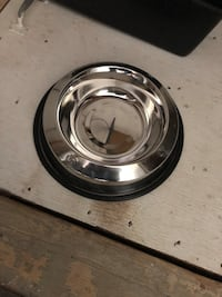 Large stainless steel water bowl Westerly, 02891