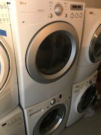 LG washer and dryer with a 90 day as  Jonesboro, 30236