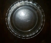 Two, identical 9 and 1/2 inch pie plates, new!  Cincinnati, 45202
