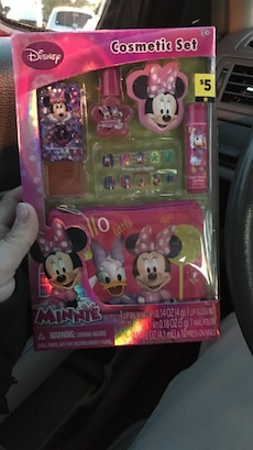 Disney Minnie mouse Cosmetic set box