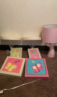 Girl room decoration