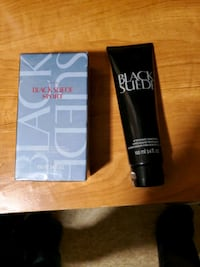 Black suede avon fragrance and after shave Louisville, 40219
