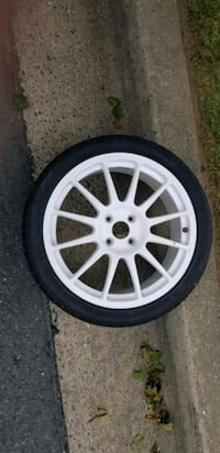 17 in wheel and tire  4x100 bolt pattern  Germantown, 20876