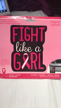 Breast cancer car decal  Mississauga, L4T 4L6