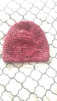 Pink with hints of orange Knit Beanie Woodbridge, 22191