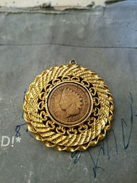 Pendant With 1899 Indian Head Penny
