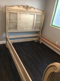 Queen size bed frame. Los Angeles, 91367