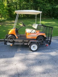 Yamaha Gas Golf Cart & Trailer/ Delivery Available