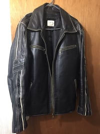 Beautiful Large Leather Jacket with a lining