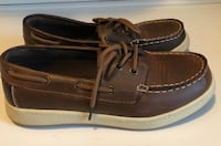 Boys Shoes Brown Loafers Slip-On Dress Shoes Size 3 Front Royal, 22630
