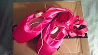 Hot pink pointe shoes White Plains, 10605
