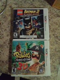 two Nintendo 3DS games
