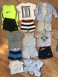 Baby 6-12m lot GAP,NIKE,ZARA
