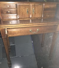 European style bureau / desk. Fold down writing desk