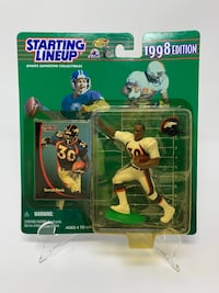 Vintage Denver Broncos Legend and Super Bowl MVP Terrell Davis STARTING LINEUP ACTION FIGURES (1) [Brand New]