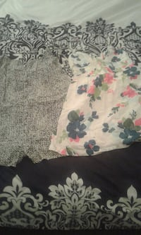 Black and white romper and floral dress  178 mi