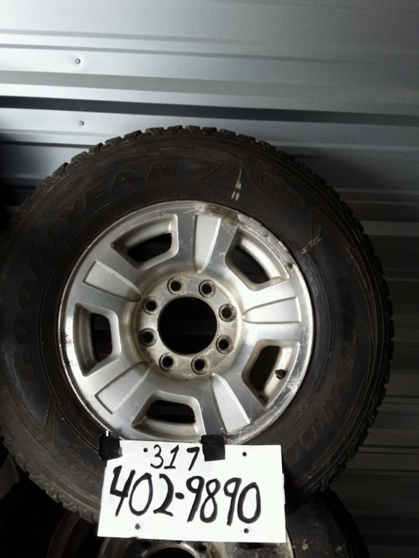 Used 17 U0026quot  Chevy Aluminum Rally Wheels For Sale In
