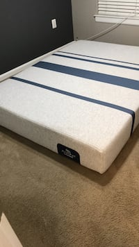 White and blue bed mattress Germantown, 20876