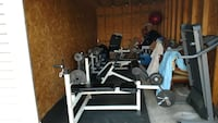 black and gray bench press Spencerport, 14559