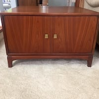 Mid Century Cabinet/End Table Burke, 22015