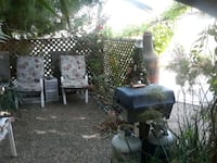 BBQ grill on wheels with 2 tanks  Scottsdale, 85256