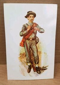 """Set of 5 Civil War Post Cards """"The Infantryman"""" Hagerstown, 21742"""