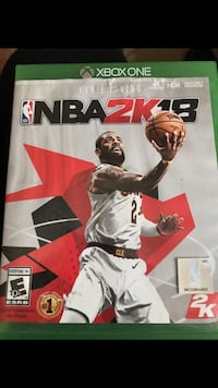 NBA 2K18 Xbox One game case Spring Valley