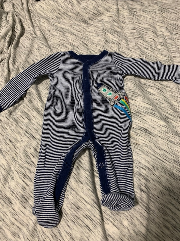 a87022698f2f4 Used Footed Onesie with Rocket - NB for sale in San Francisco - letgo