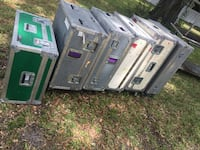 6 road cases $85 each