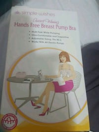 Brand new never used hands free breast pump bra for sale