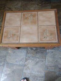 brown wooden 2-drawer chest Montreal, H2K