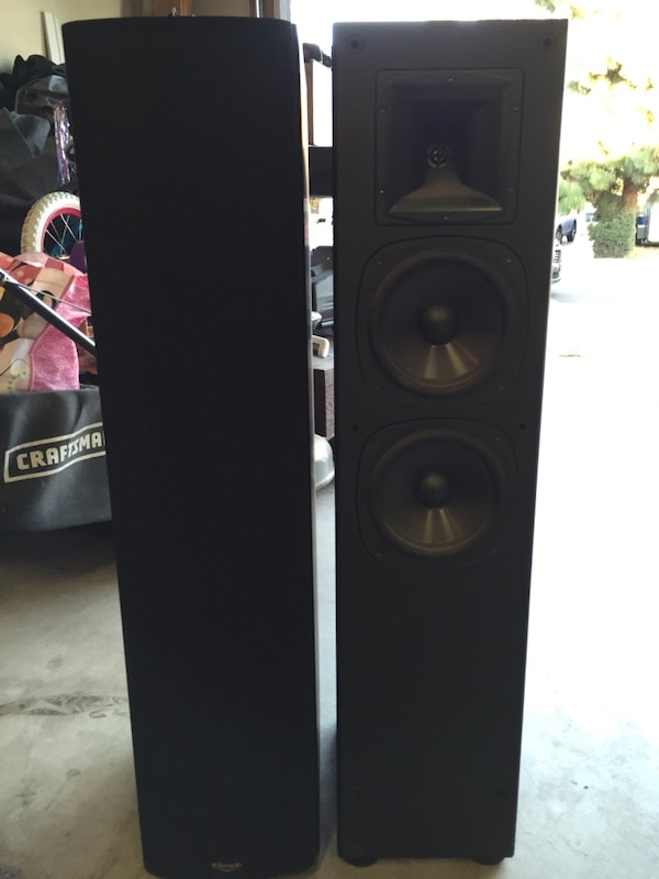5dbcce504a Used Klipsch SF2 tower speakers for sale in Poway - letgo