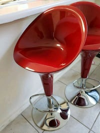 Red bar stools San Antonio, 78240