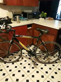 black and yellow Denali road bike Austin, 78702