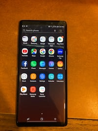 Note 9 128gb black Toronto, M8V