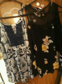 black and white floral sleeveless dress Cleveland, 37323