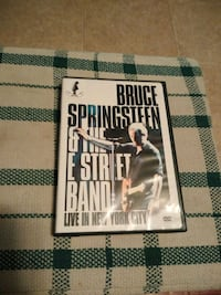 Bruce Springsteen live in New York dvd Summerville