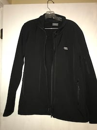 black zip-up jacket Olney, 20832