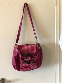 women's red and pink snakeskin print 2-way bag Richmond Hill, L4C 9S5