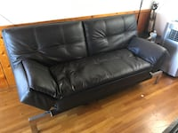 Leather sofa bed couch Alhambra, 91801