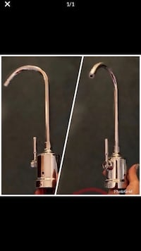 """12"""" Chrome Faucet like new for water purifier Smyrna"""