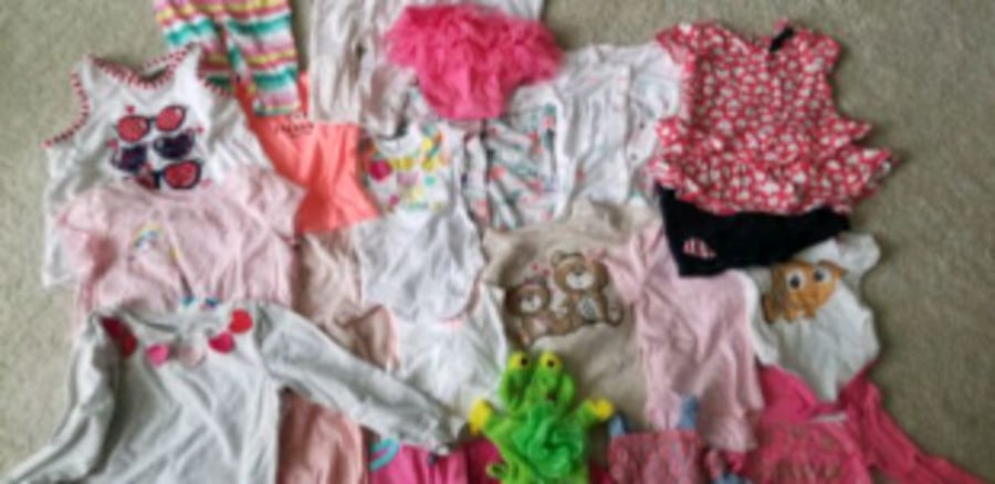 Baby to toddler girl clothes. Sizes from newborn t 6218bfec-d8e8-489e-8b56-d1ab9f8292e3