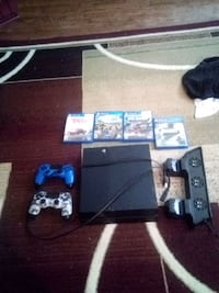 PS4 with games and cooling fan Woodbridge, 22191