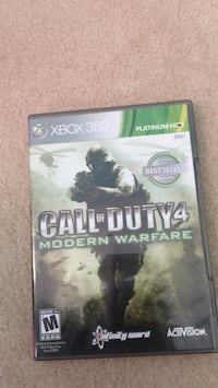 Call of Duty World War 2 Xbox 360 game case Burke, 22015