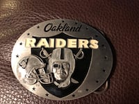 Limited edition Oakland Raiders Belt Buckle Stockton, 95219