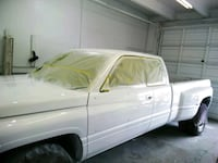WE CAN PAINT CAR OR TRUCK truck
